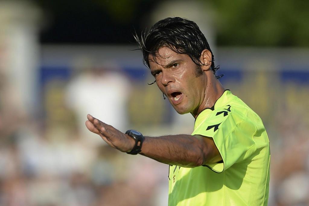 Vicenza-Frosinone: l'arbitro sarà Nasca