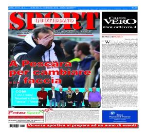Prima pagina Sport Quotidiano 12 febbraio 2016