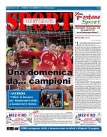 La prima pagina di SPORT in edicola venerdì 18 dicembre