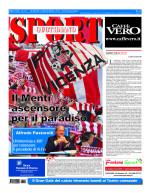 La prima pagina di SPORT in edicola venerdì 20 novembre