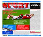 La prima pagina di SPORT in edicola venerdì 23 ottobre