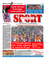 Prima Pagina Sport Quotidiano 10 ottobre 2014