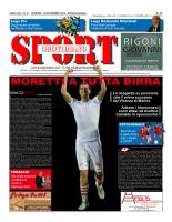 Prima Pagina Sport Quotidiano 14 novembre 2014