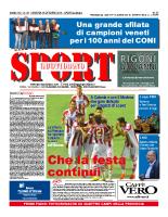 Prima Pagina Sport Quotidiano 24 ottobre 2014