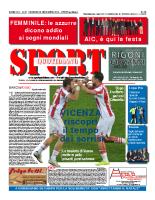 Prima Pagina Sport Quotidiano 28 novembre 2014