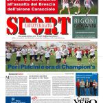 Archivio prime pagine SPORTquotidiano 2014