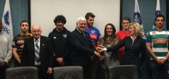 """Regione Veneto, firmato protocollo per il """"Rugby a scuola"""""""