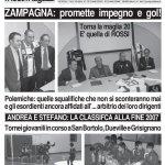 Archivio prime pagine SPORTquotidiano 2008