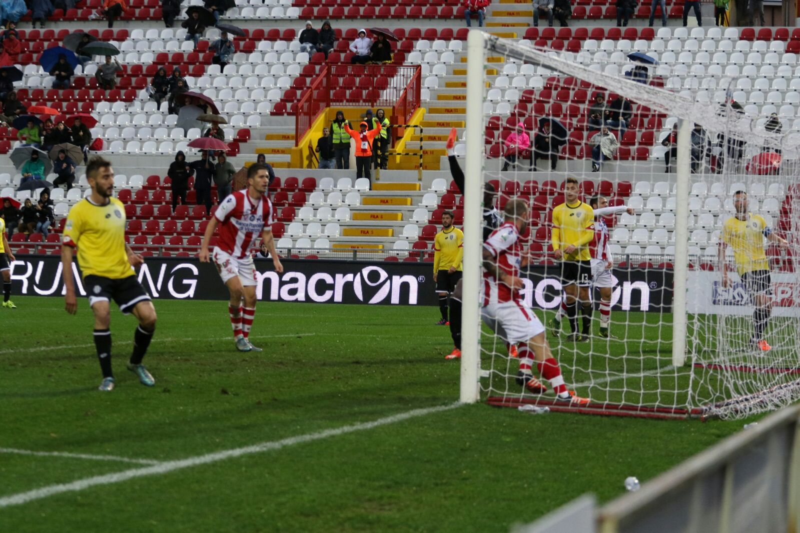 Galano insacca il gol dell'1-1
