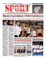 N.1 – Prima pagina SportQuotidiano del 11 gennaio 2013