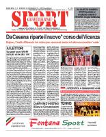 N.3 – Prima Pagina Sport Quotidiano del 25 gennaio 2013