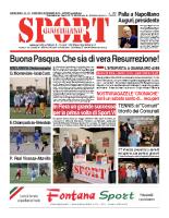 N.12 – prima Pagina SportQuotidiano del 29 Marzo 2013