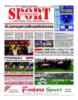 N.16 – prima Pagina SportQuotidiano del 26 Aprile 2013