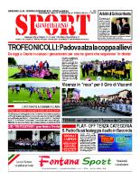 N.20 – prima Pagina SportQuotidiano del 24 maggio 2013