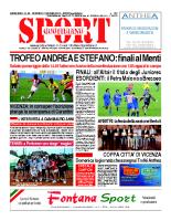 N.22 – prima Pagina SportQuotidiano del 7 giugno 2013