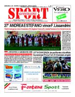 N.23 – prima Pagina SportQuotidiano del 14 giugno 2013