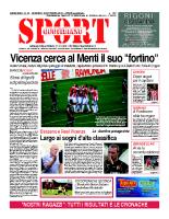 N.37 – Prima Pagina SportQuotidiano del 20 ottobre 2013