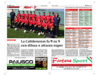 GIRONE D – CALIDONENSE (27/01/2017)