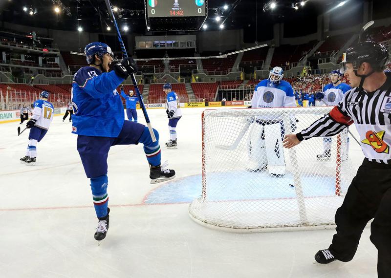 Nazionale Italiana femminile Hockey ghiaccio