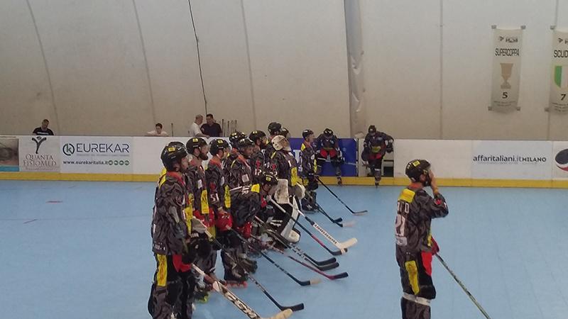 Gara 5 finale di pay off hockey Milano Vicenza