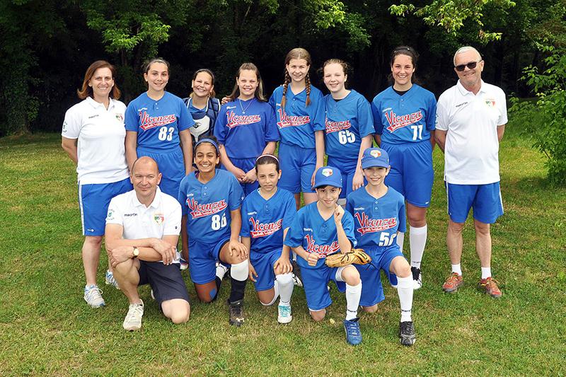 Squadra U13 Ragazze Softball