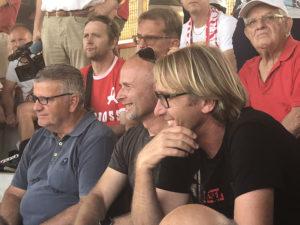 Michele Nicolin e Werner Seeber