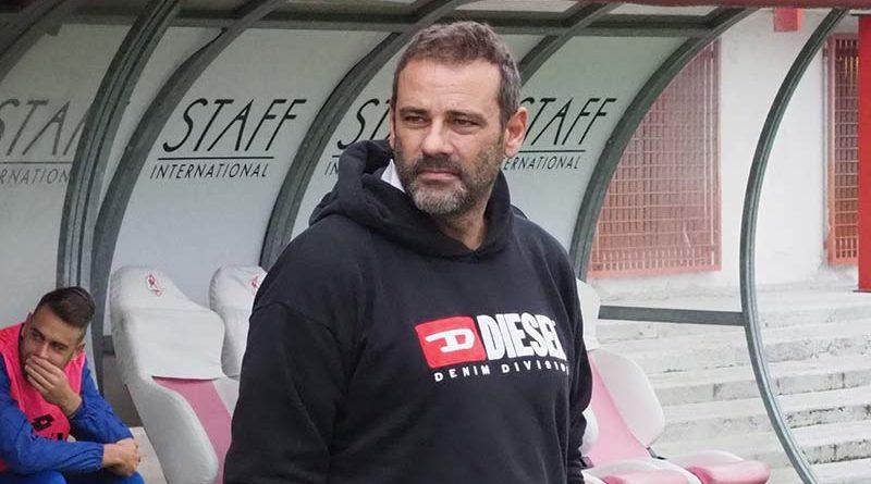Giovanni Colella in L.R. Vicenza - Sambenedettese giocata a vicenza 11/11/18