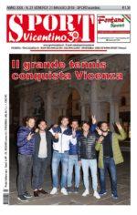 La prima pagina in edicola venerdì 31 maggio