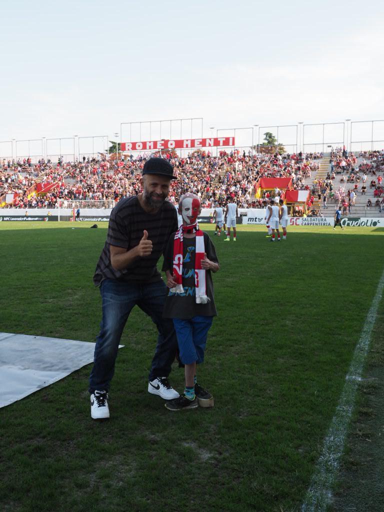 Stefano Rosso, il presidente, e Sammy Basso
