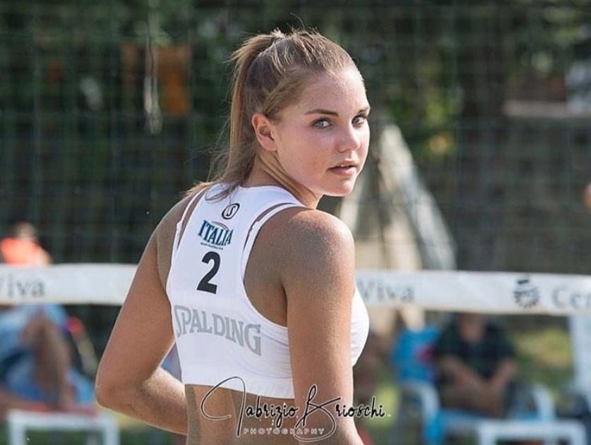 La giovane centrale di Anthea Volley Vicenza Emma Quaglio