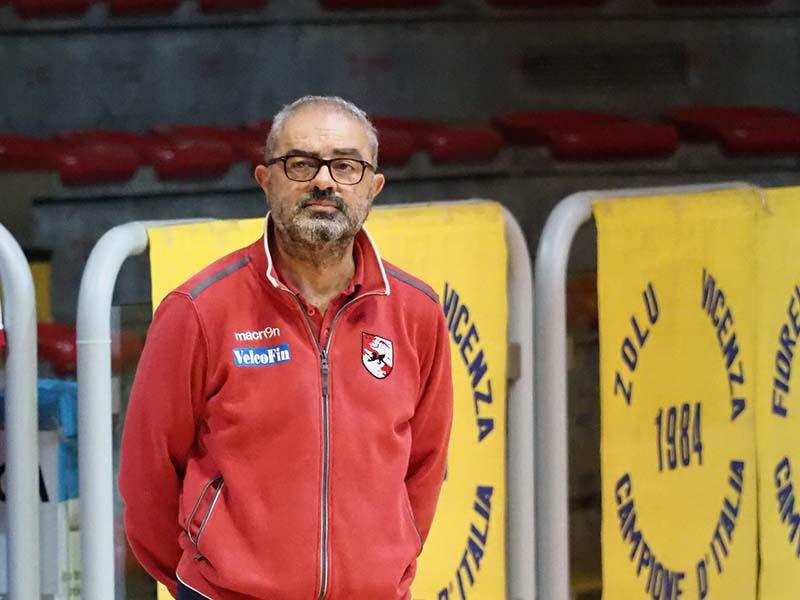 Carmelo Gorgone allenatore velcofin vicenza