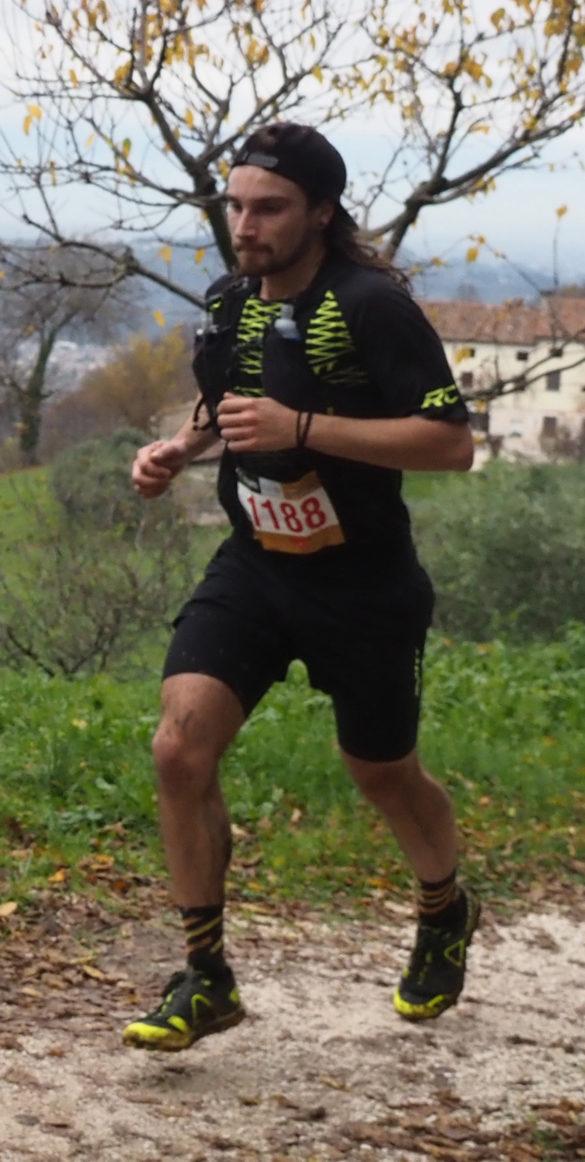 Mirko Cocco il vincitore della sprint