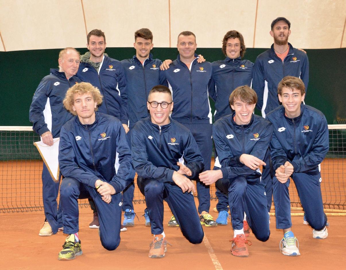 La squadra del Tennis Comunali Vicenza ©SPORTvicentino