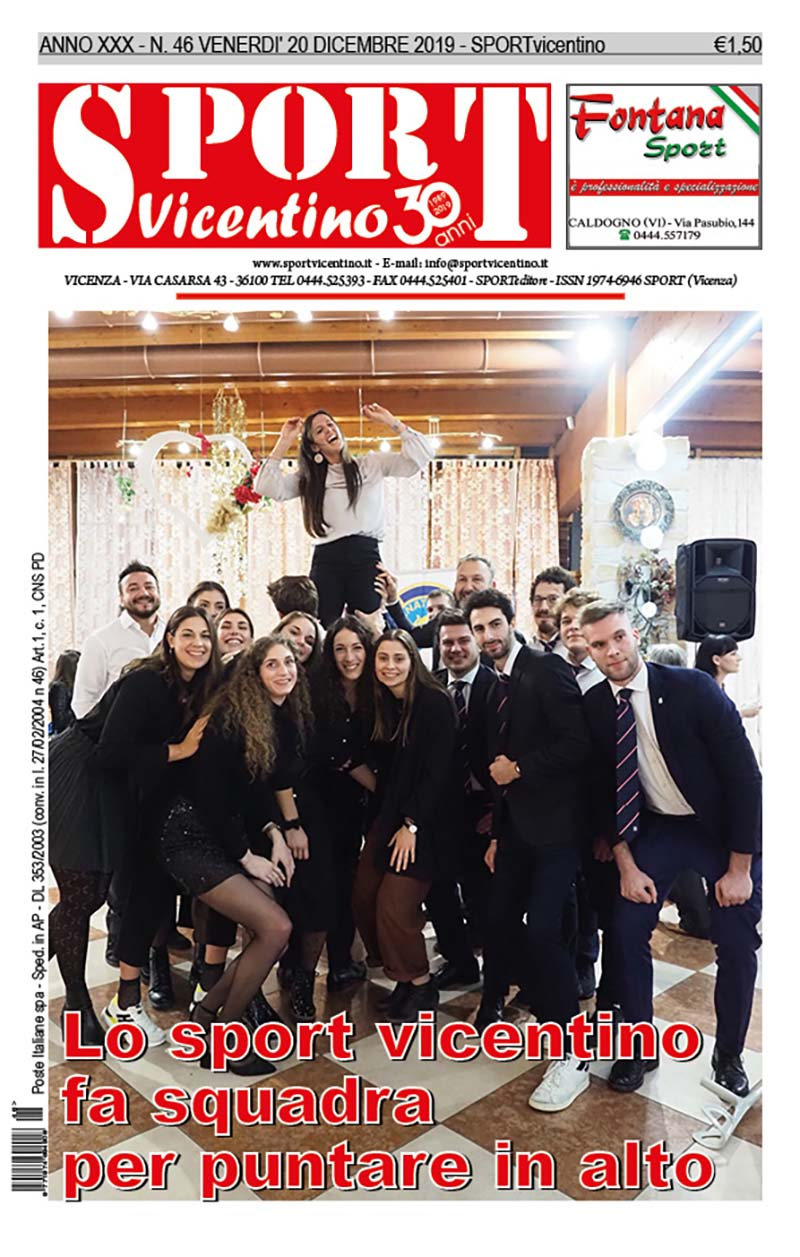 La prima pagina in edicola venerdì 20 dicembre