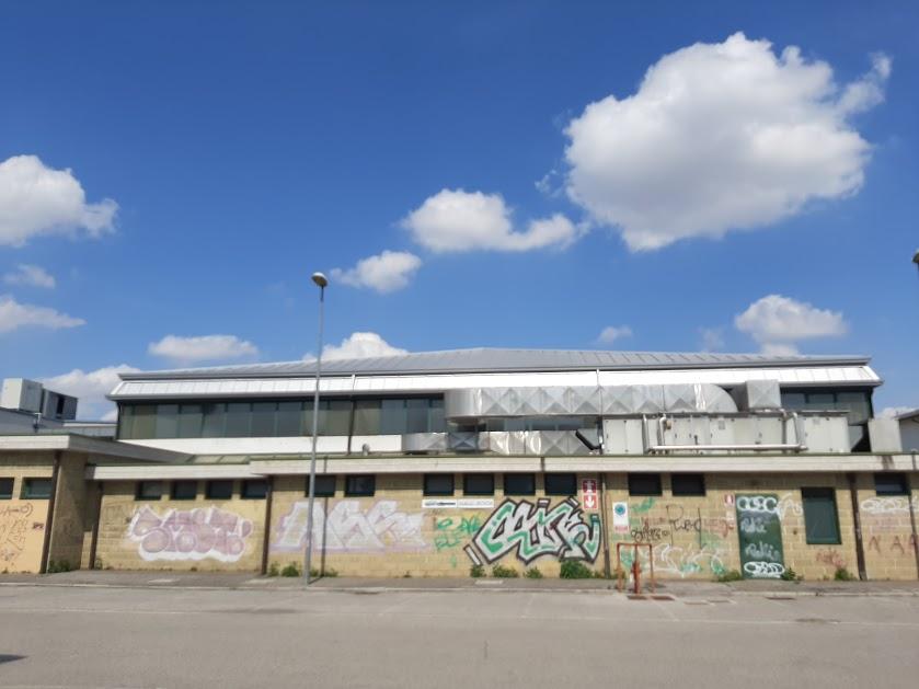 Lato ovest del pattinodromo di Vicenza