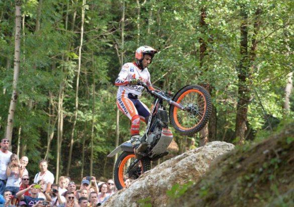 Il campione spagnolo Toni Bou a San Pietro Mussolino