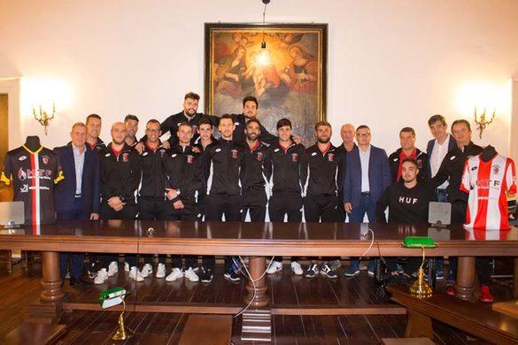 La stagione di esordio in A1 dell'Hockey Montebello si è aperta ufficialmente con la presentazione della squadra in Municipio