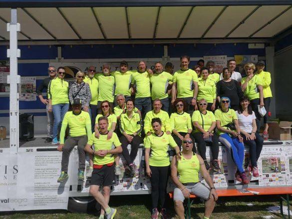 """Gli organizzatori della corsa """"Tra visele e olivari"""""""