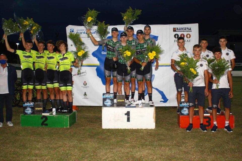 28 agosto 2020 podio giro del Friuli (ph Bolgan)