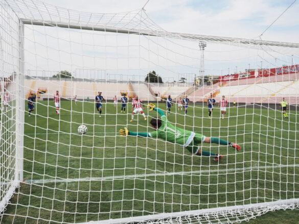 Il rigore di Giacomelli - LR Vicenza - FC Legnago @sportvicentino