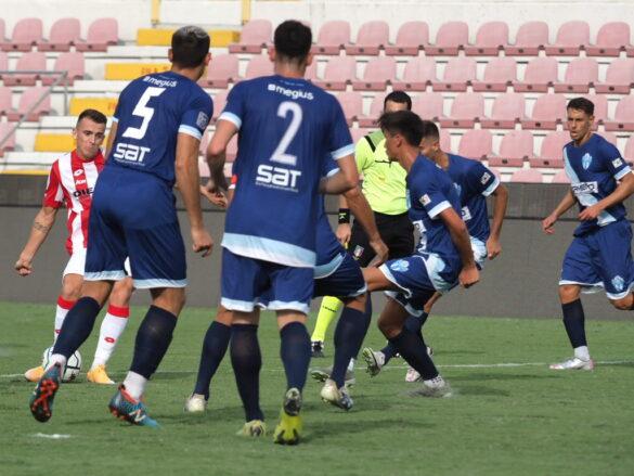 Il gol di Vandeputte - LR Vicenza - FC Legnago @sportvicentino