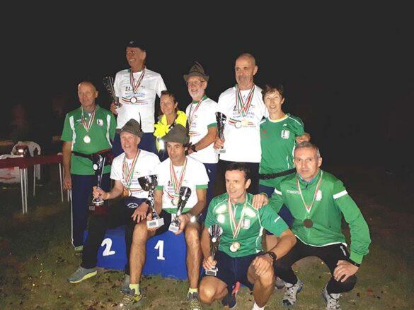La squadra del G.S.Alpini Vicenza