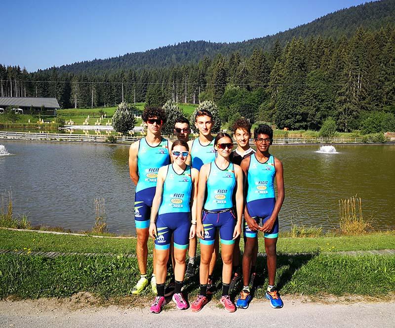 Martina Dogana è speaker ai Campionati Italiani di Triathlon Giovani