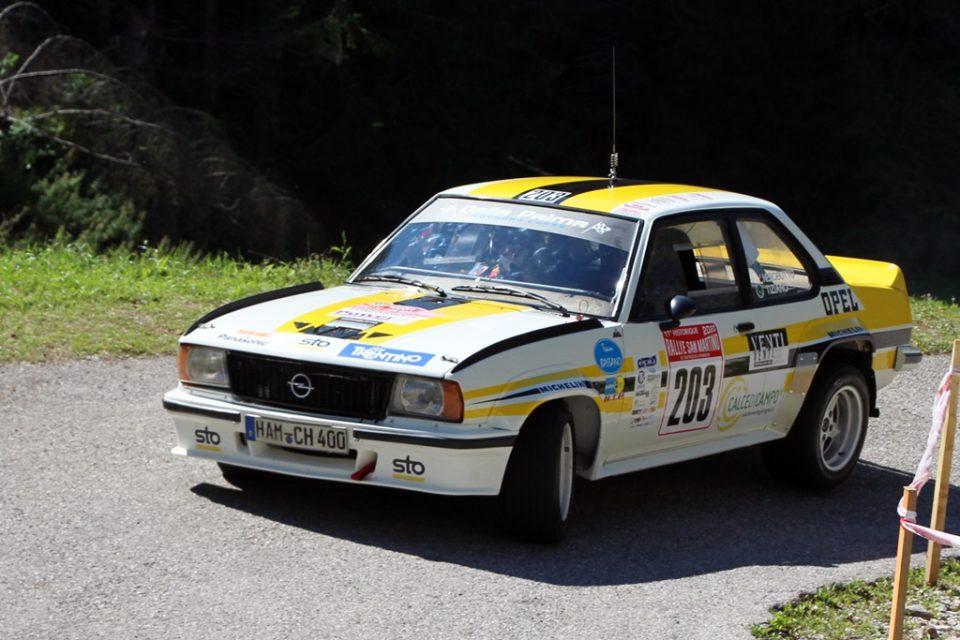 Team Bassano al Rally di San Martino 2020