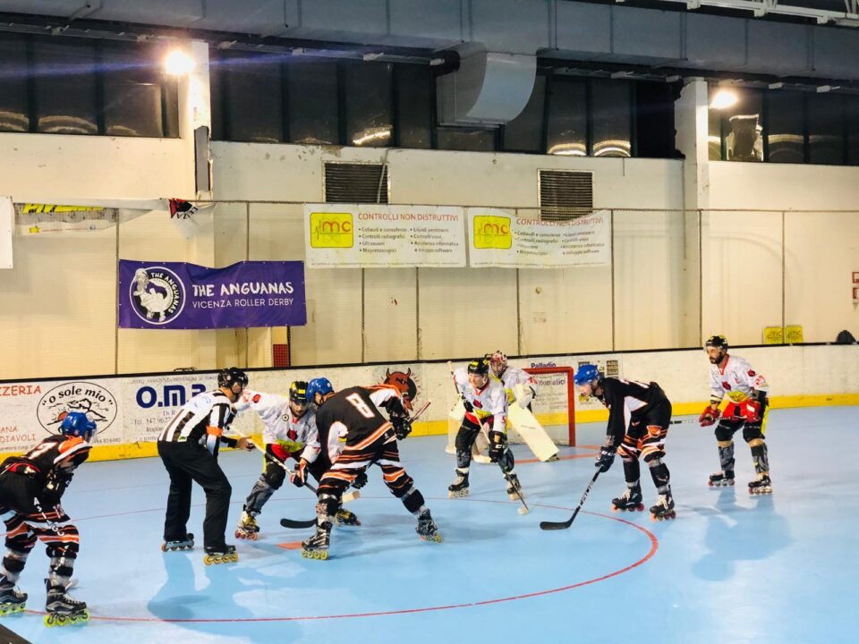 Diavoli Vicenza vs Vipers Asiago