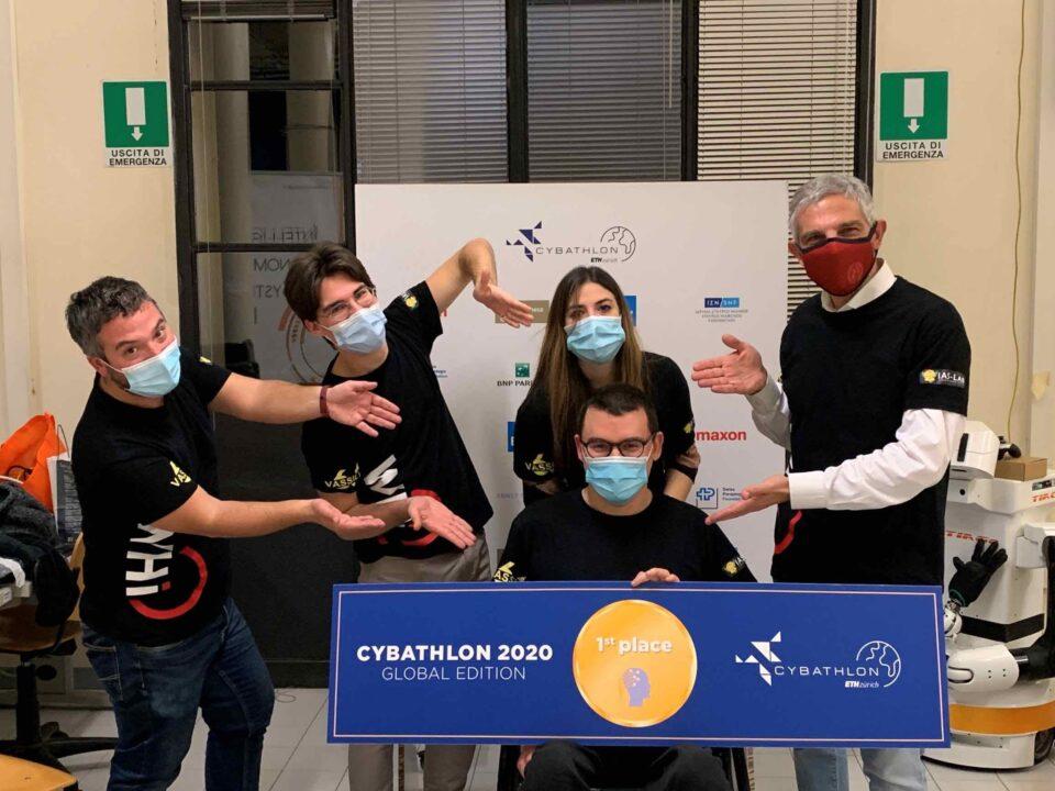Francesco Bettella vince Cybathlon 2020 Bci Race