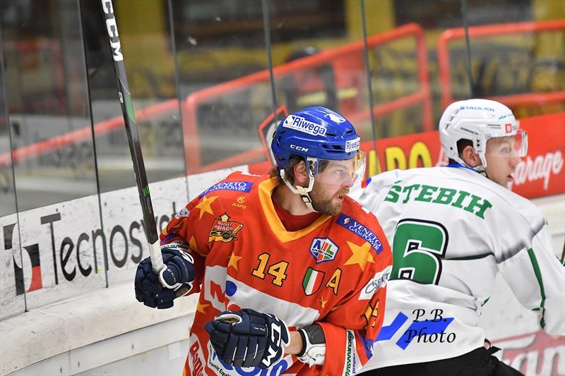 Asiago hockey Olimpija Lublijana
