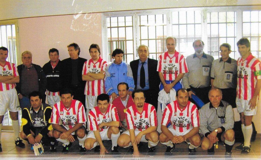 Real Vicenza e Paolo Rossi nel 2000 in carcere a Vicenza
