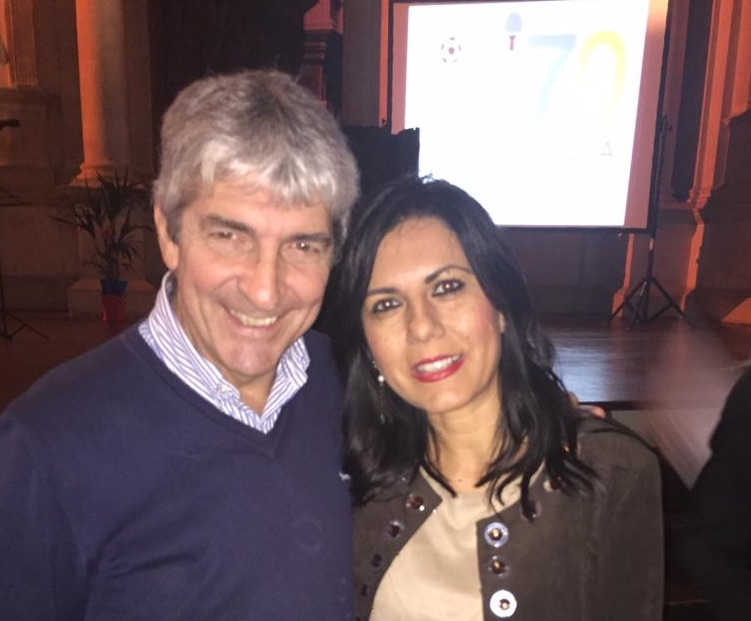 Paolo Rossi e Daniela Sbrollini