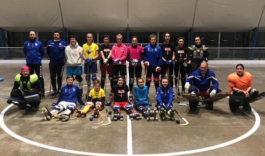 le ragazze dell'hockey pista Valdagno